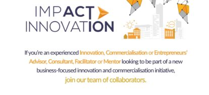New Opportunities to Work with Impact Innovation