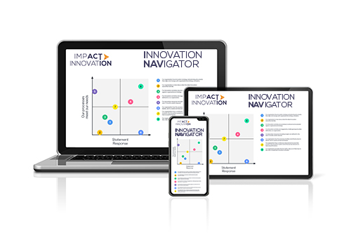 Our Innovation Navigator leads the way for your innovation strategy