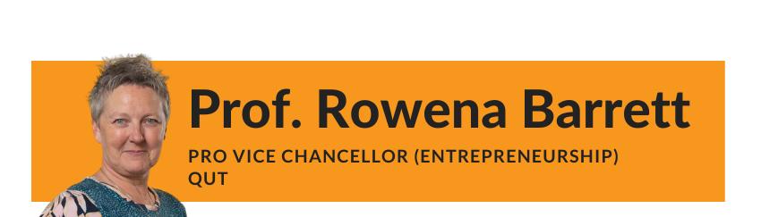 Rowena Barrett QUT Entrepreneurship blog article header