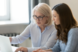 Female Mentor Matched With Young Female Founder