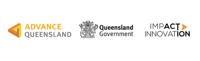 Female Founders Queensland Government and Impact Innovation logos